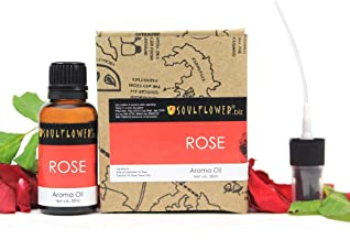 Soulflower Aroma Oil, Rose - 30Ml