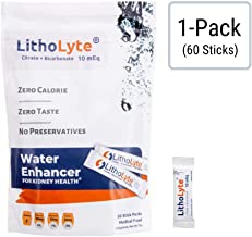 Kidney Health   Water Enhancer   LithoLyte® 10 mEq, Developed by Urologists (1)