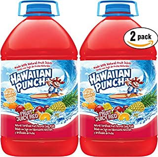 Hawaiian Punch Fruit Juicy Red, 1 Gal Bottle (Pack of 2, Total of 2 Gal)