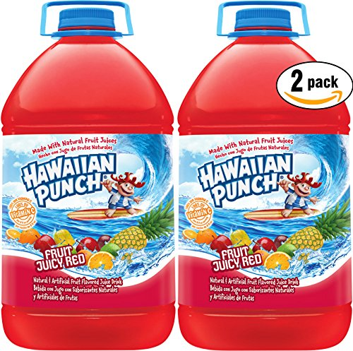 Hawaiian Punch Fruit Juicy Red, 1 Gal Bottle (Pack of 2, Total of 2 Gal)