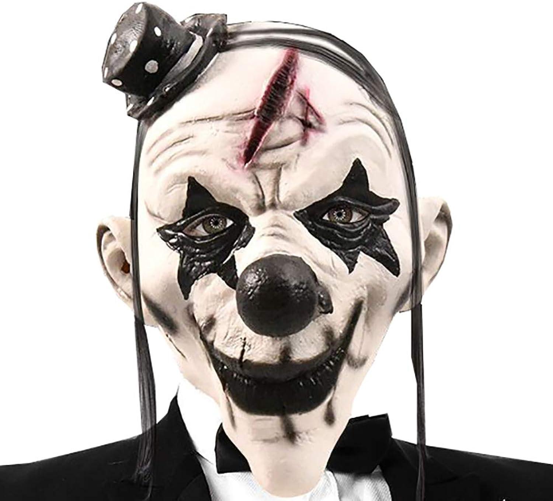 Teufel Clown Maske Latex Horror Scary Maske B07HK26K9W Genial  | Deutschland