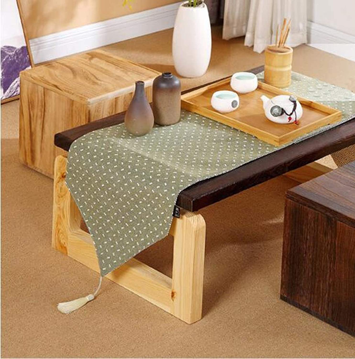 Nwn Wooden Stool Fashion Seat Change shoes Small Chair Living Room Makeup Stool Table Furniture (color   Wood color)