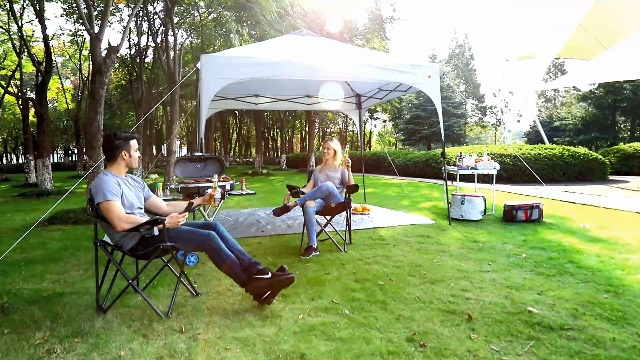 Knock 15% off an outdoor pop up tent