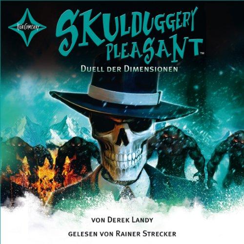 Duell der Dimensionen (Skulduggery Pleasant 7) Titelbild