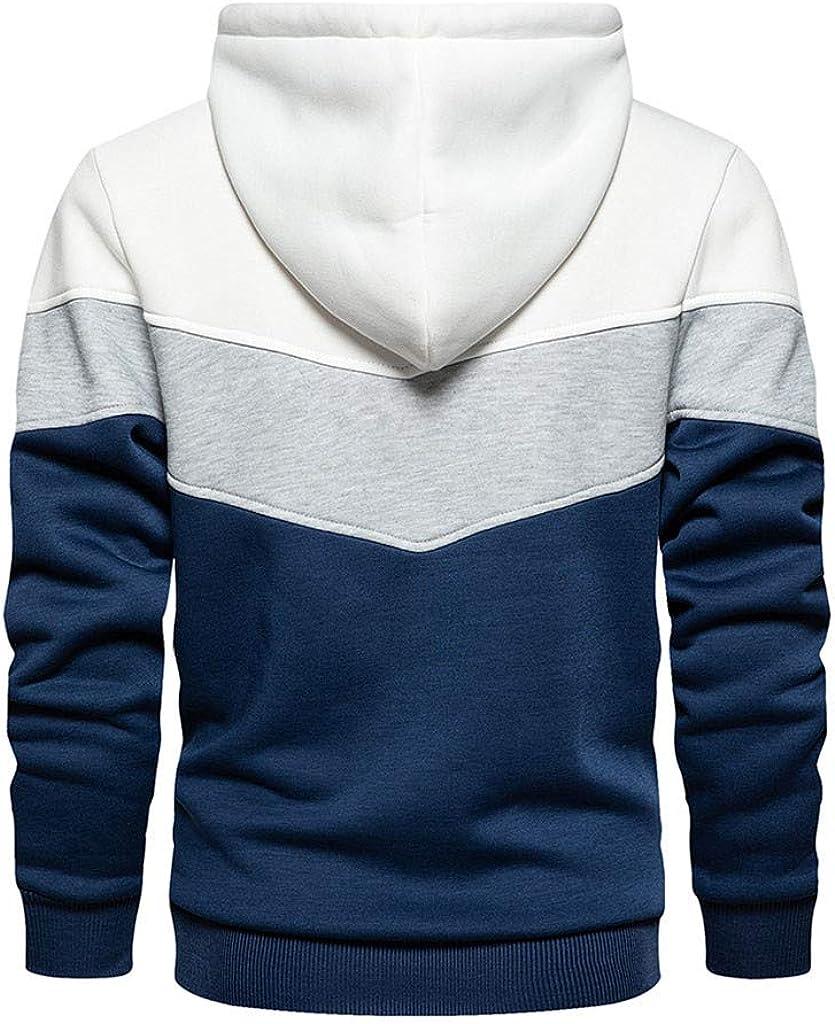 Hoodies for Men Men's Novelty Pullover Fleece Hoodie Casual Lightweight Sweatshirts Athletic Hoodies Tops