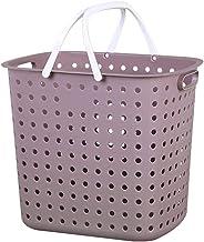 Household Plastic Dirty Clothes Storage Basket Clothing Laundry Basket