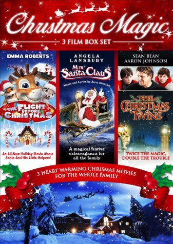 Christmas Family Boxset (3 Discs - Flight Before Christmas, Mrs Santa Claus & The Christmas Twins) [DVD]