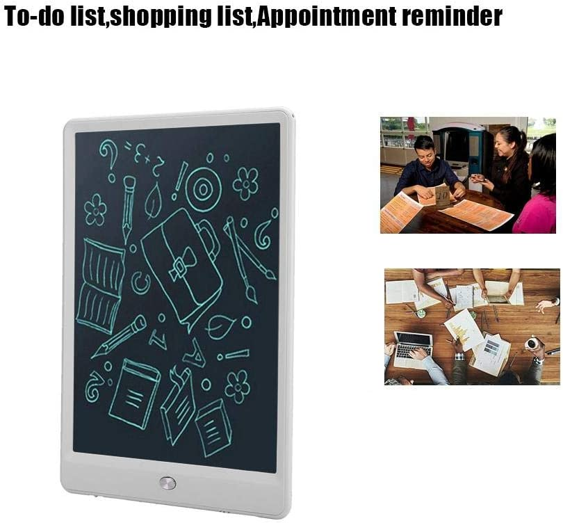 Black Zopsc 10-Inch LCD Writing Board Painting Tablet Electronic Notepad Writing Board LCD Drawing Board for Calligraphy Practice