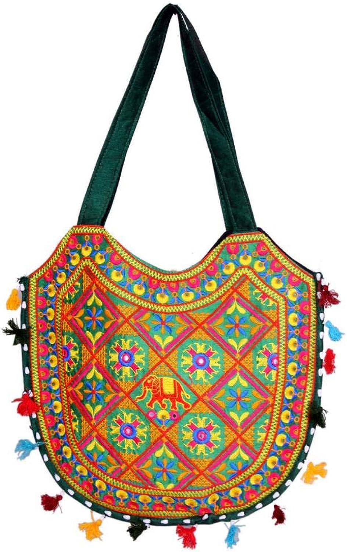 Indian Wholesale 50 pc lot Bulk Mandala Ombre Hippie Assorted Bag Tribal Boho Shoulder & Handbag Ethnic Cotton Messenger Carry Bag With Shoulder Strap Tote Purse For Ladies by Craft Place CAD-69