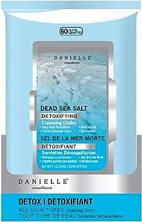 Danielle Makeup Remover Wipes Detoxifying Dead Sea Salt