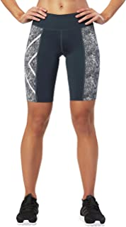 2XU Women's PTN Mid-Rise Compression Shorts