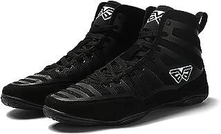 RTY Unisex's Boxing Shoes,Black,45