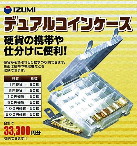 硬貨の携帯や仕分けに便利 日本製 デュアル コインケース (33300円分)