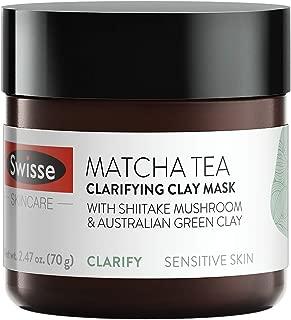 matcha bentonite clay mask
