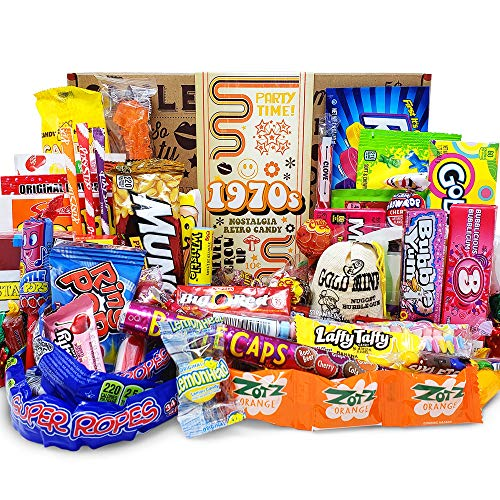 VINTAGE CANDY CO. 1970s RETRO CANDY GIFT BOX - 70s Nostalgia Candies...
