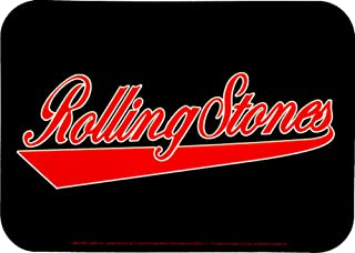 Rolling Stones Athletic Logo in Red on Black Sticker / Decal