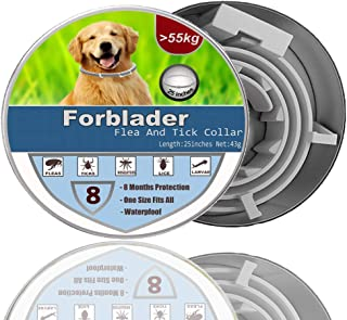 Forblader Dog Collar 2020 ,Prevention Collar for Dogs, Safe Collar,Water-Resistant,Adjustment,,Best Fast-Acting,Long Prote...