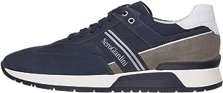 NeroGiardini E001484U Sneaker Hombre De Piel, Ante Y Tela