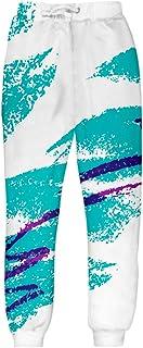 Uideazone Unisex 3D Fashion Graffiti Collection Crewneck Tank Hoodie Sweatshirt Jumpsuit Swim Trunk