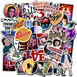 Stranger Things Stickers 75pcs Best Things for Kids Girls Teens Laptop Stickers Vinyl Stickers for Water Bottle Luggage Skateboard,Graffiti Decals for Motorcycle Notebooks (Stranger Things)