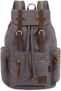 Mens Bag Student Leisure Bag Large Capacity Canvas Bag Trend Fashion Men's Bag Outdoor Sports Shoulders Computer Backpack High capacity