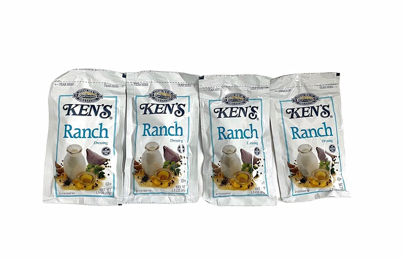 Ken's service 1.5oz Salad Dressing Purchase Ranch Count 20 Packets