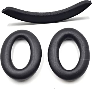 Defean Replacement Ear Pads and Headband for Sennheiser PC350 HD380 Pro Headphones Earpads/Cushion/Bumper/Cover/Cups/Foam ...