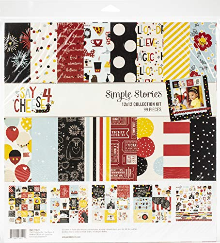 Simple Stories - Kit de manualidades (papel, tamaño grande)