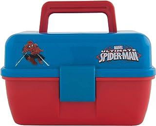 シェイクスピア タックルボックス マーベル スパイダーマン こども用釣り具 2段 収納 ケース 小物入れ プラスチック [並行輸入品]