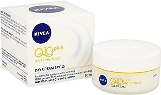 Nivea Q10 Plus Spf 15 Anti-Wrinkle Face Day Cream, 50 Ml, Pack Of 3