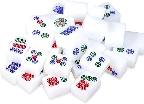 hermoso LI JING SHOP - Mano grande de de de la mano que frojoa la tarjeta de Mahjong, sitio del dormitorio del turismo Mahjong portable, tamaño  4.0  3.1  2.1CM (144sheets) ( Tamaño   4.03.12.1CM (144sheets) )  venta