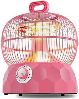 Radiador eléctrico MAHZONG Calentador eléctrico Jaula de pájaros Ahorro de energía 1 Segundo Calor de Velocidad, 360 Grados de Calentamiento Total