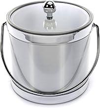 product image for Mr. Ice Bucket Brushed Silver Ice Bucket, 3-Quart