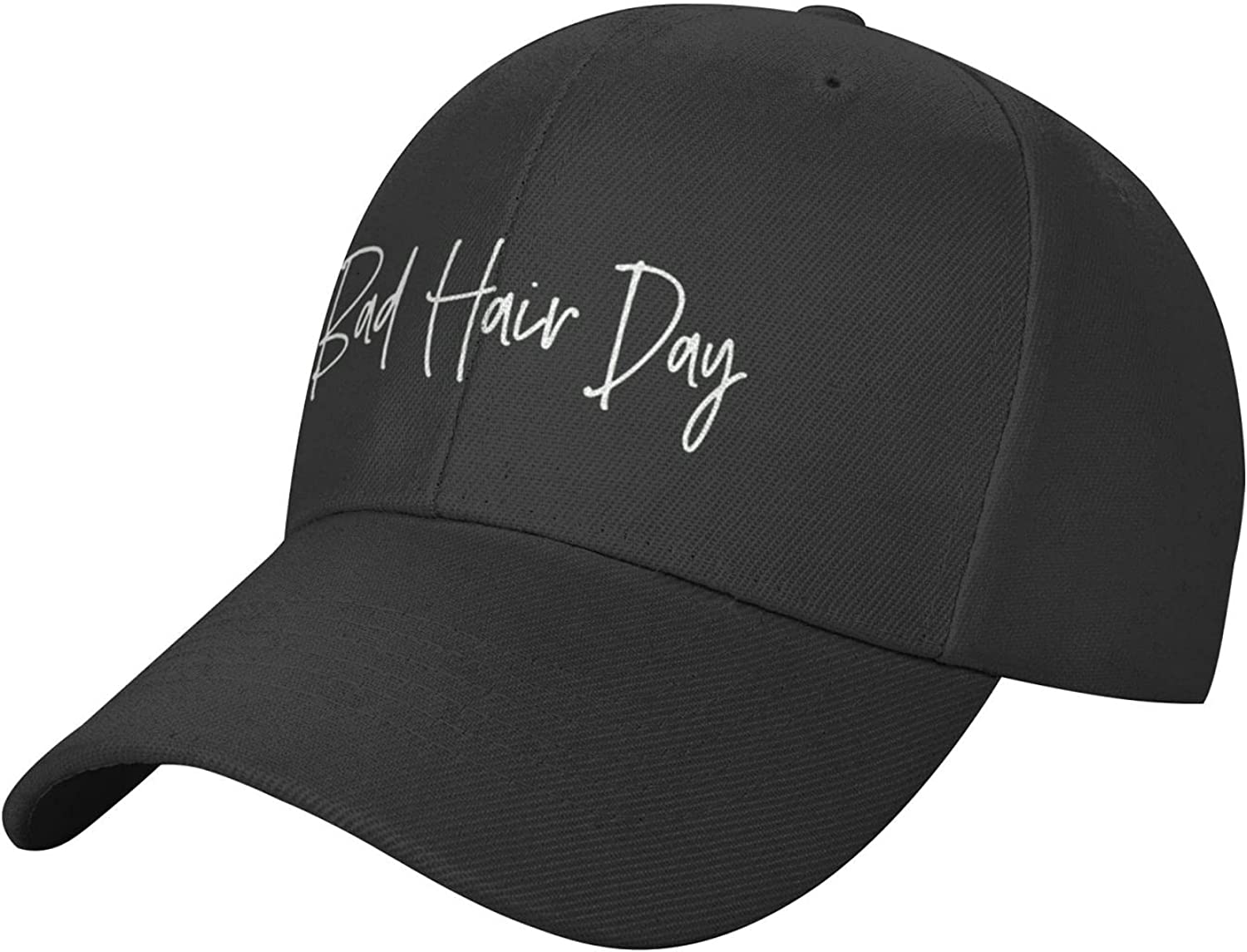 Today is My Bad Hair Day Hat, Adjustable Classic Baseball Cap, Sun Hats for Women& Men
