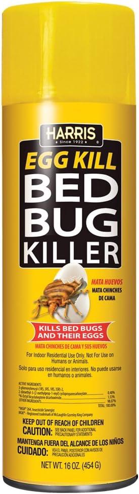 Harris Bed Bug and Egg Aerosol Spray 16oz Limited OFFicial site time sale Killer