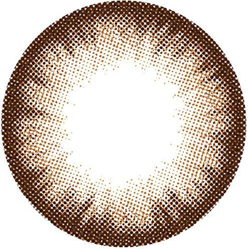 Matlens – GEO Farbige Kontaktlinsen ohne Stärke Eyevelyn Silicon-Hydrogel UV Blocking PS-B24 braun brown 2 Linsen 1 Kontaktlinsenbehälter 1 Pflegemittel 50ml