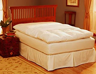 Pacific Coast Basic Feather Bed Protector 230 Thread Count, Full