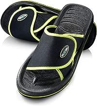 Roxoni Men's Adjustable Beach/Shower Slide Sandals