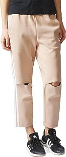 سروال رياضي اوريجينالز انفو بوستر للنساء من اديداس طراز CF1164، لون بيج، مقاس S