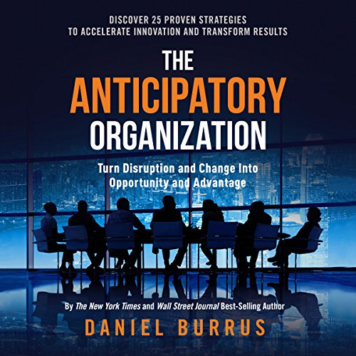 The Anticipatory Organization audiobook cover art