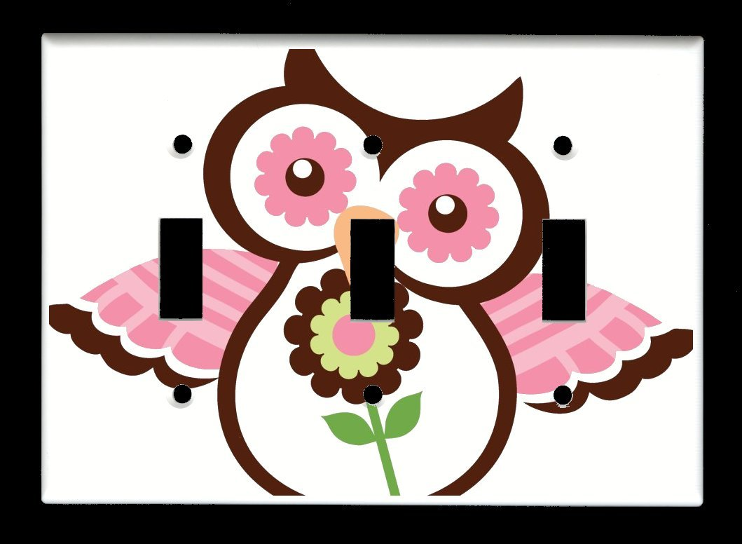 Triple Toggle 3-toggle Light Switch Max 68% OFF Owls - Cover Spring Plate Austin Mall