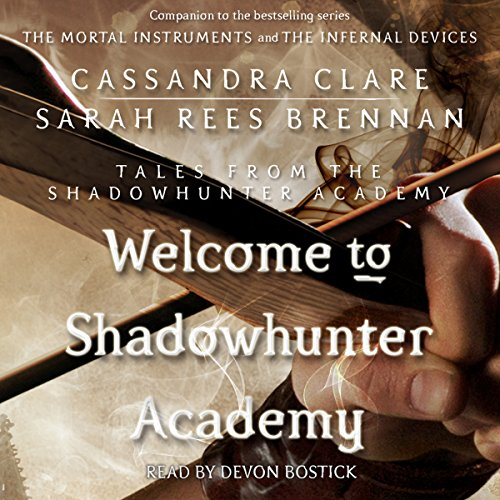 Welcome to Shadowhunter Academy audiobook cover art