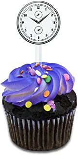 Best clock cupcake toppers Reviews
