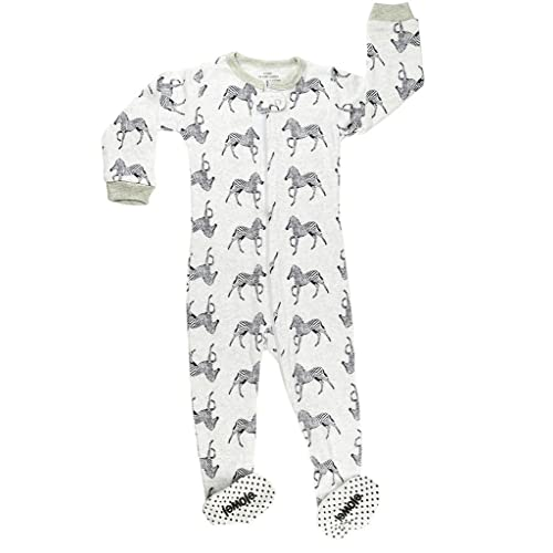 08367498492d2 elowel Pyjama Grenouillère Zebre Bien Serre