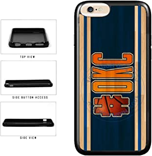BleuReign(TM) Basketball Team Hashtag Oklahoma City #OKC TPU RUBBER SILICONE Phone Case Back Cover For Apple iPhone 6 Plus and iPhone 6s Plus (5.5 Inches Screen)