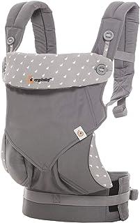 (跨境自营)(包税) ERGObaby 四式360婴儿背带-浅灰露珠BC360ADWGY