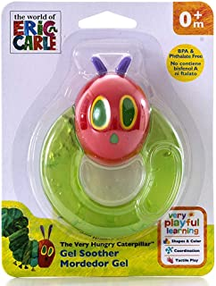 THE WORLD OF ERIC CARLE Teether: Very Hungry Caterpillar Gel Soother
