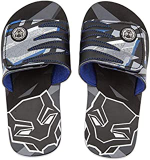 Shop Disney Marvel Black Panther Sandals For Kids - Flip Flops Beach Water Shoes (7/8)