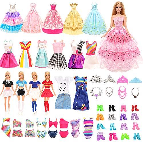 Miunana 41 Accesorios para Barbie Muñeca De 11,5 Pulgadas Y 30 Cm:...