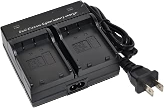BP-727 Battery Charger AC Dual for Canon BP727 BP-709 BP-718 BP-745 LEGRIA VIXIA iVIS HF M506 M52 M56 M60 R306 R36 R37 R38 R406 R46 R48 R47 R506 R56 R57